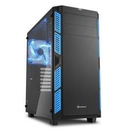 تصویر کیس شارکن AI7000 Glass Blue AI7000 Glass Blue