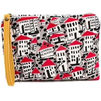 کیف لوازم آرایش هیدورا طرح شهر |