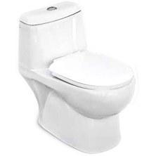 توالت فرنگی مینا مدل برلیان بیده دار |