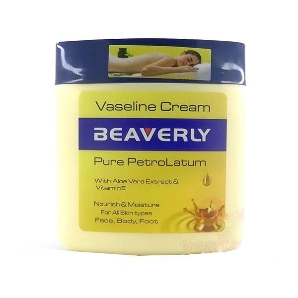 تصویر کرم وازلین بیورلی Beaverly Vaseline Cream 250ml