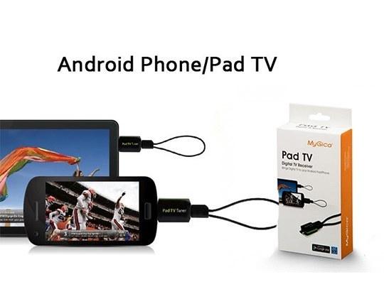 گیرنده دیجیتال موبایل و تبلت مای جیکا پی تی ۲۳۰ | MyGica PT230 DVB-T Pad TV Tuner