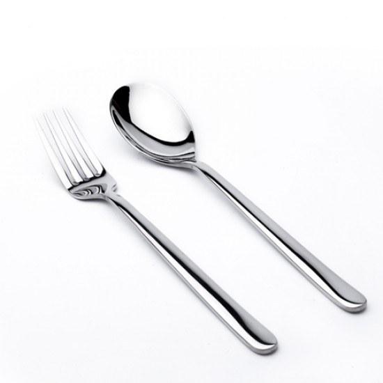 تصویر قاشق و چنگال غذاخوری یونیک مدل دونا(نگیر)