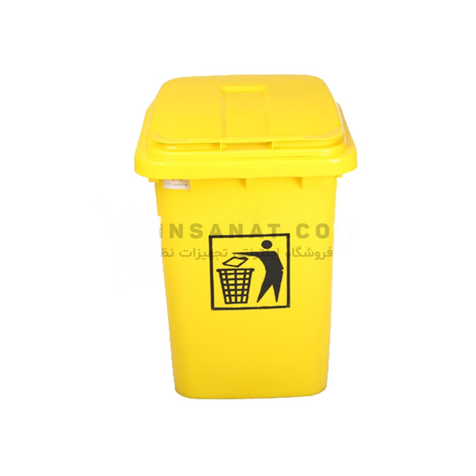 تصویر مخزن زباله 60 لیتری