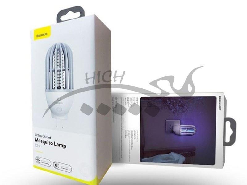تصویر چراغ حشره کش بیسوس Baseus Linlon Outlet Mosquito Lamp ACMWD-LB02