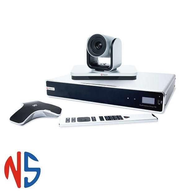تصویر پایانه ویدئوکنفرانس پلی کام Polycom RealPresence Group 700 - 1080p Eagle Eye IV 12x