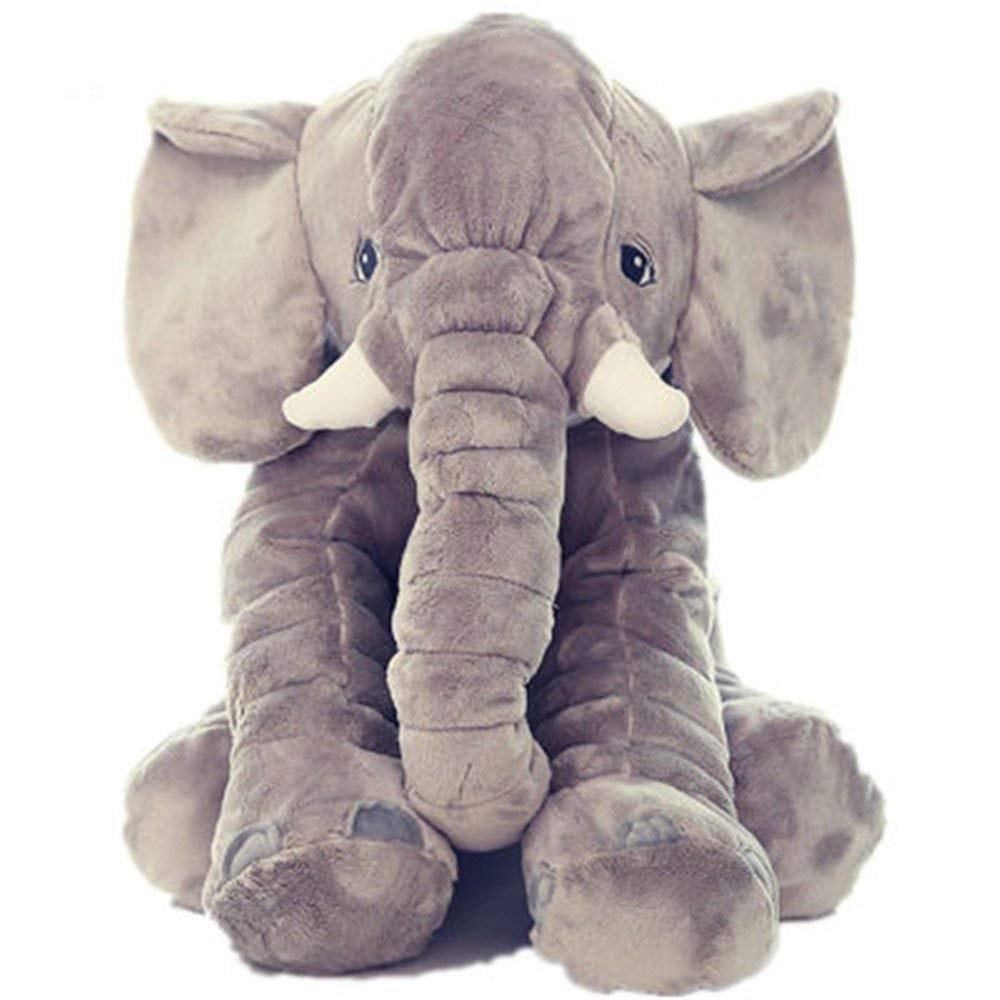 عکس عروسک فیل بالشتی بازی و خواب نوزاد  عروسک-فیل-بالشتی-بازی-و-خواب-نوزاد