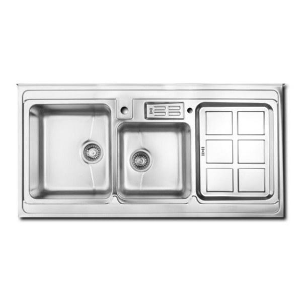 سینک ظرفشویی اخوان مدل ۳۶۲ روکار باکسی |