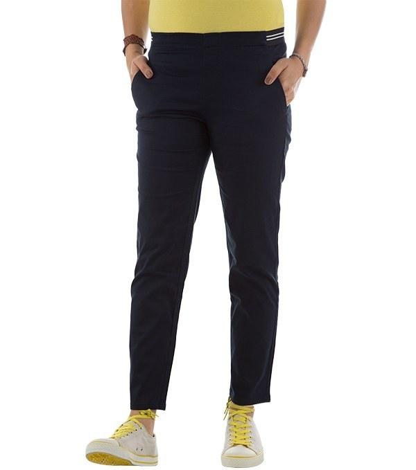 شلوار زنانه کتان فاق کوتاه جین وست Jeanswest