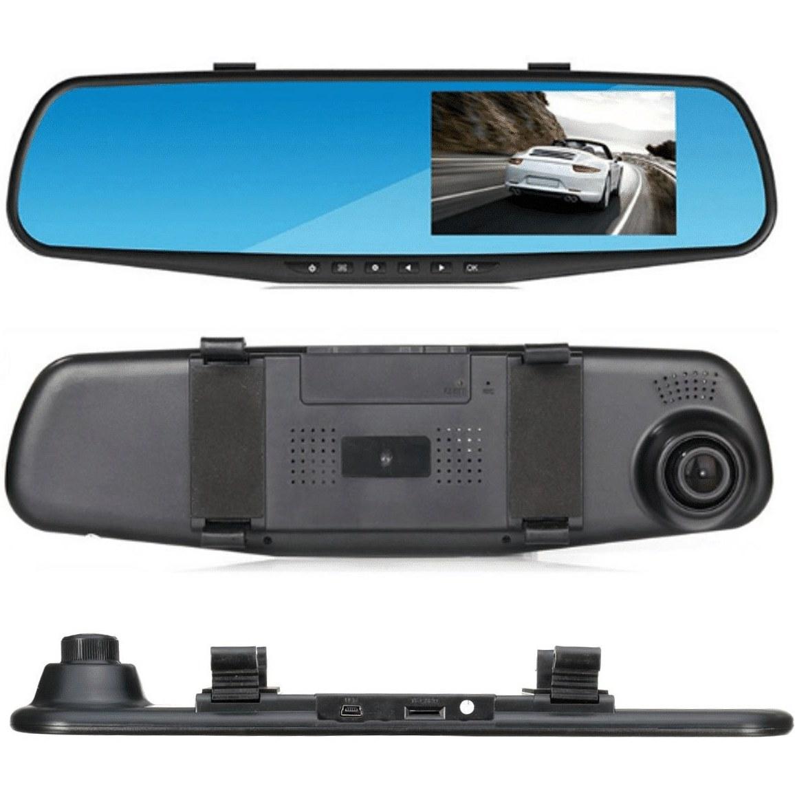 تصویر آینه مانیتور دار و دوربین دار خودرو کد ۲۴۰
