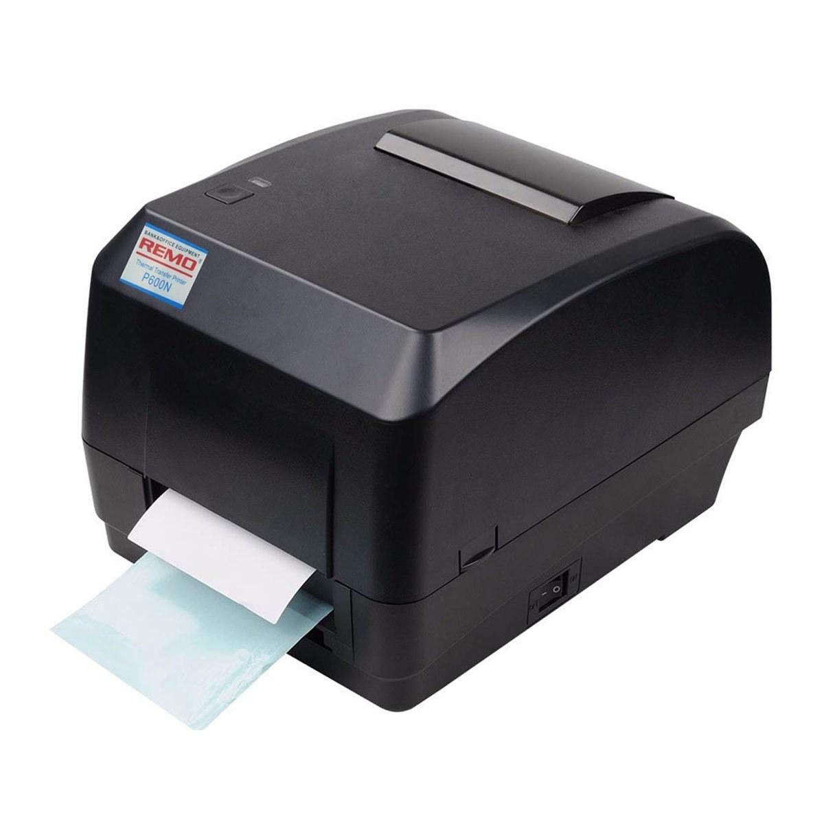 تصویر پرینتر لیبل زن رمو مدل P600N REMO P600N Label Printer