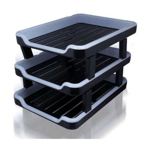 کازیه 3 طبقه پلاستیکی | Plastic chartulary 3 floors