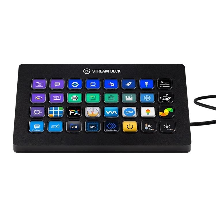 تصویر کنترلر استریم الگاتو مدل  Elgato STREAM DECK XL