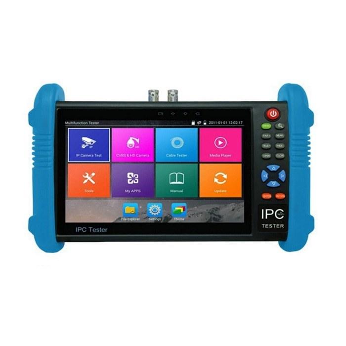 تصویر تستر دوربین مداربسته مدل IPC 9800 ADH PLUS IPS 7inch Touch Screen H.265 4K IPC-9800 Plus IP Camera