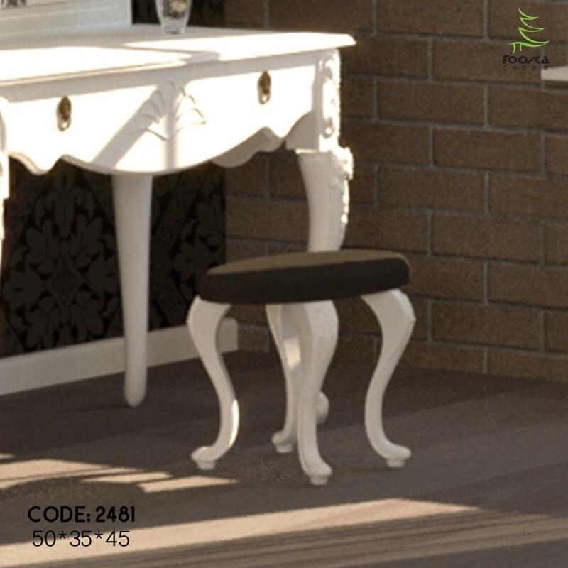 تصویر صندلی میز آرایش مدل نایس