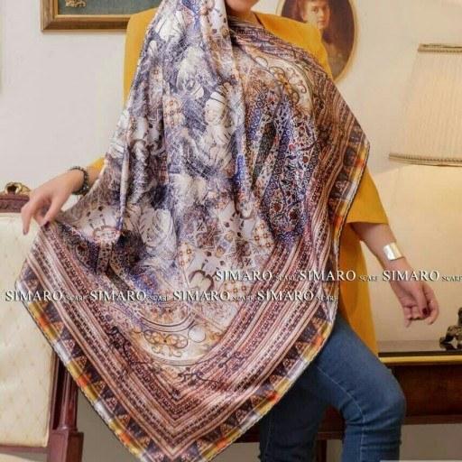 روسری مامی ابریشمی کد 378900  