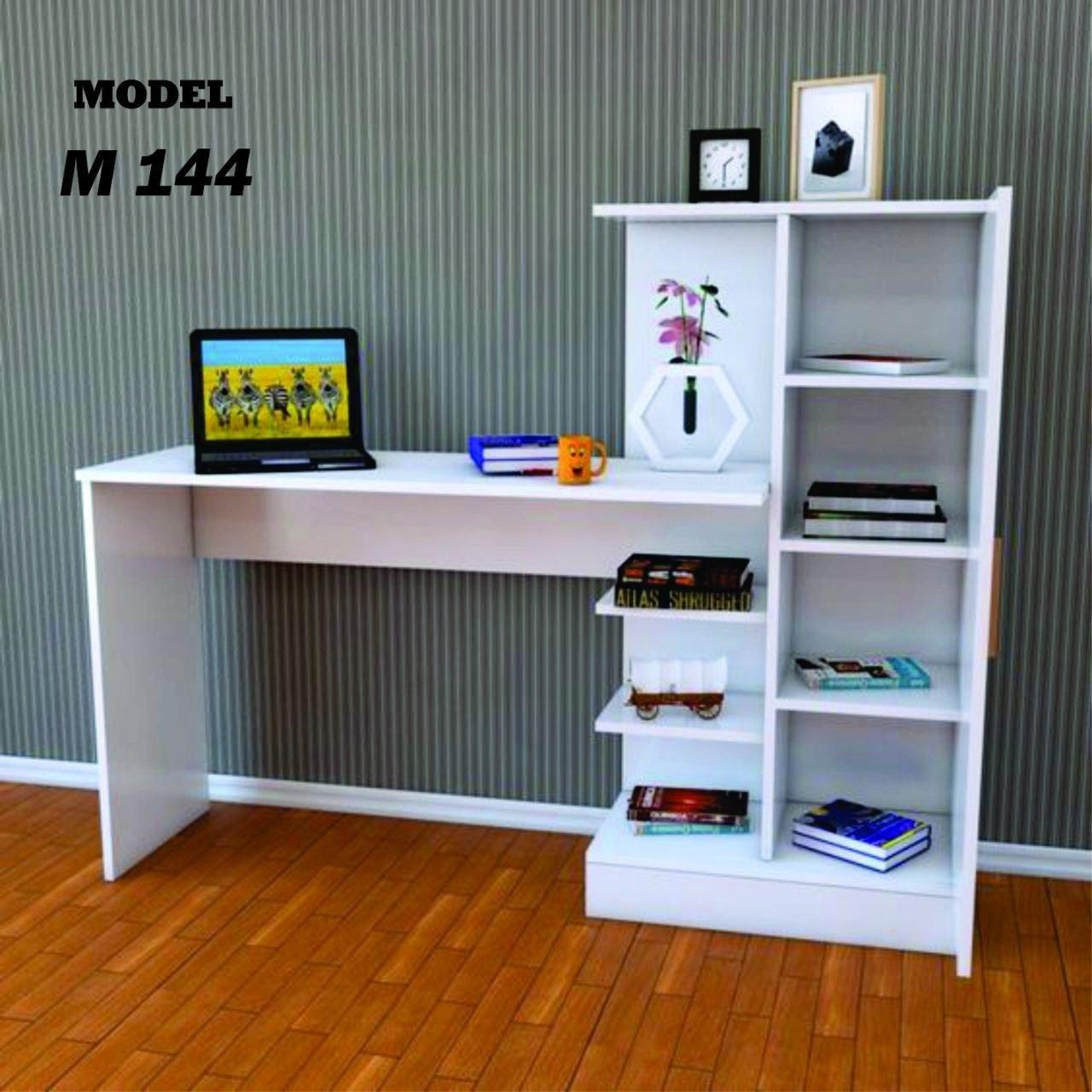 تصویر میز تحریر کتابخانه دار مدل M144