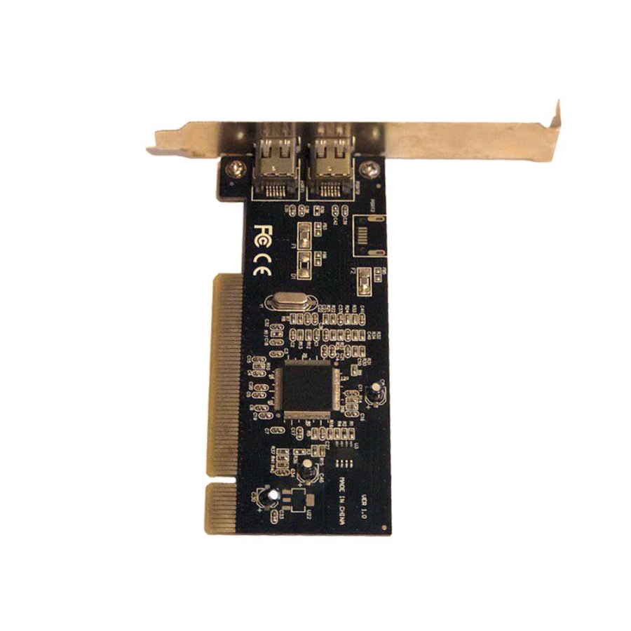 کارت فایروایر Texas Instrument PCIe 2P آکبند