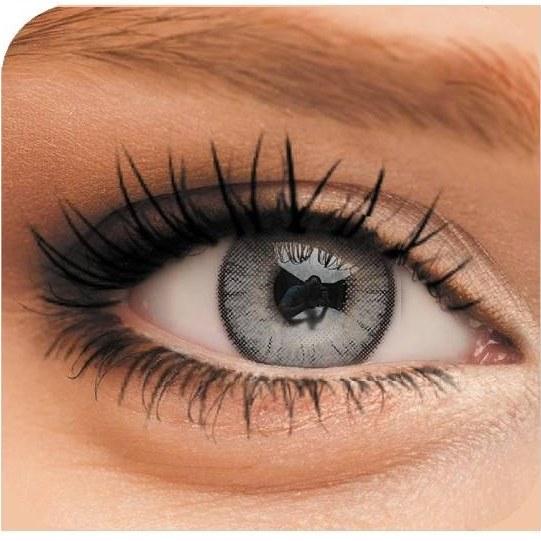 تصویر لنز چشم رنگی لاکی لوکی مدل Gray 3 Lucky Look Beauty Soft Contact Lenses