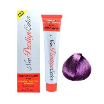 رنگ مو نیو پرستیژکالر سری واریاسیون شماره 005 حجم 120 میلی لیتر رنگ بنفش |