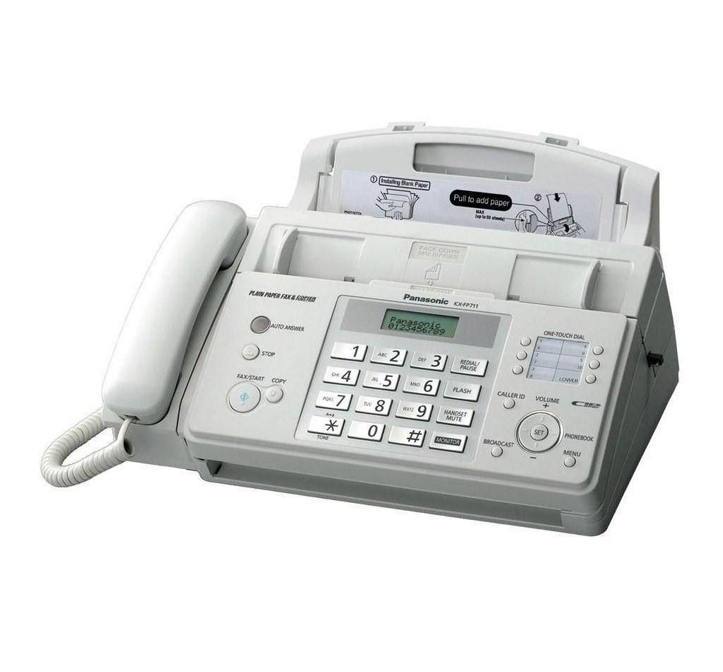 تصویر دستگاه فکس پاناسونیک مدل KX-FP712CX ا Panasonic KX-FP712CX FAX Panasonic KX-FP712CX FAX