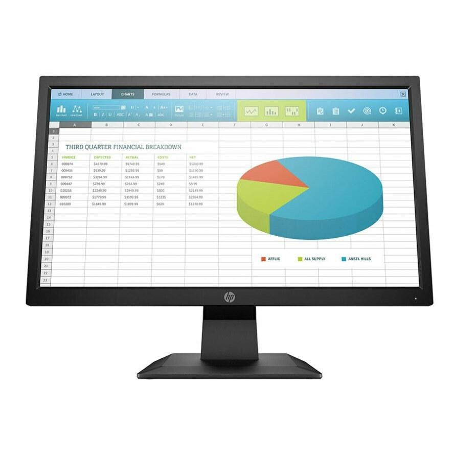 تصویر مانیتور 19.5 اینچ اچ پی P204 ا HP 24F 19.5 Inch 5 ms IPS Monitor HP 24F 19.5 Inch 5 ms IPS Monitor