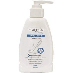 لوسیون بدن لیدی هیدرودرم مناسب پوست خشک 200 گرم