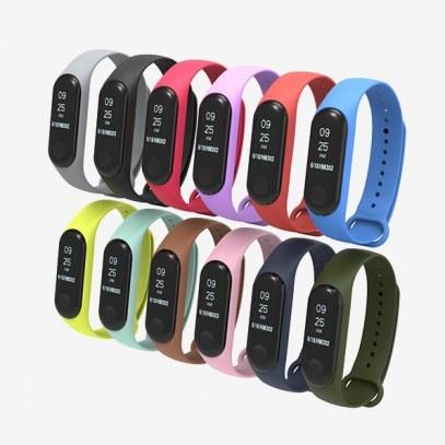 بند سیلیکونی دستبند هوشمند شیائومی Mi Band 3 Silicone |