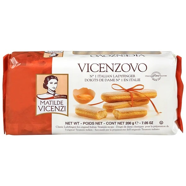 تصویر بیسکوئیت لیدی فینگر ویچنزوو 200 گرم Vicenzovo
