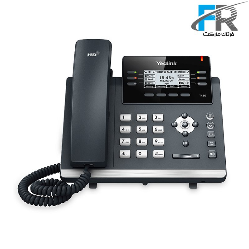 تصویر Yealink SIP-T42S IP Phone یالینک قیمت   به شرط خرید تیمی
