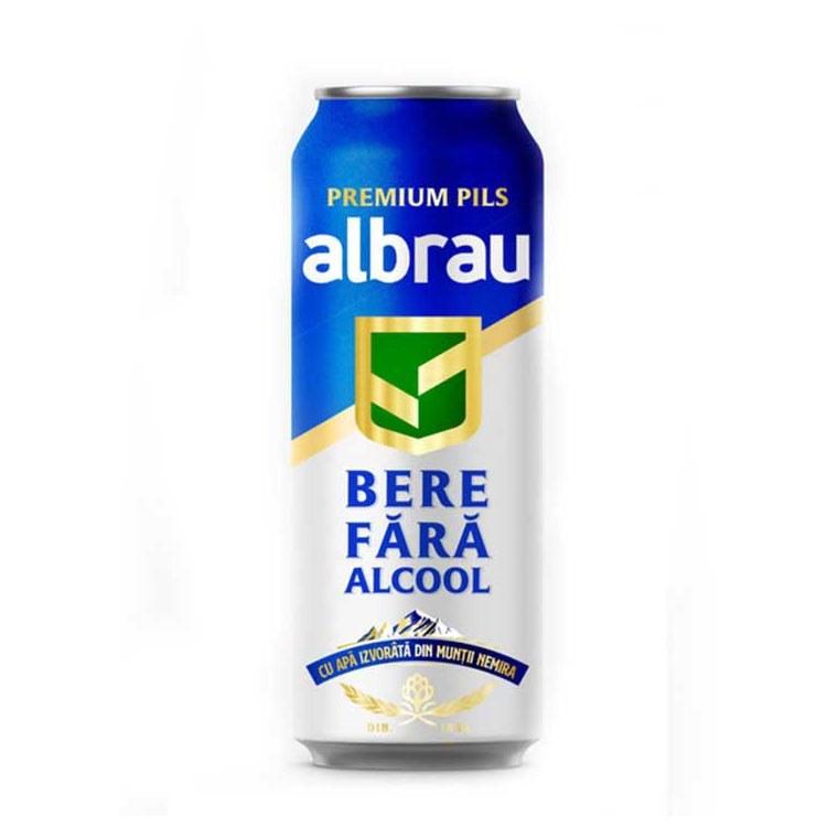 تصویر آبجو بدون الکل آلبراو ۵۰۰ میلی لیتر Albrau non-alcoholic beer 500 ml