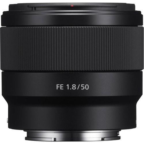 لنز دوربین سونی مدل FE 50mm F1.8 |