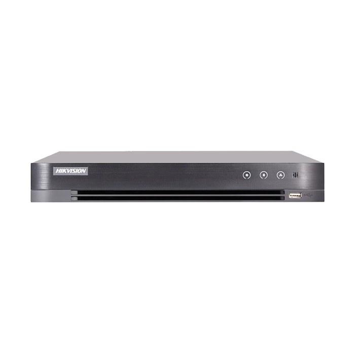 تصویر دستگاه دی وی آر 16 کانال هایک ویژن مدل DS-7216HQHI-K2 چهار مگاپیکسل ا HIKVISION DS-7216HQHI-K2 16-ch 1080p 1U H.265 DVR HIKVISION DS-7216HQHI-K2 16-ch 1080p 1U H.265 DVR