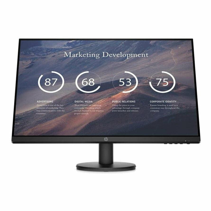 تصویر مانیتور 27 اینچ اچ پی P27v G4 HP P27v G4 27 Inch 5 ms IPS Monitor