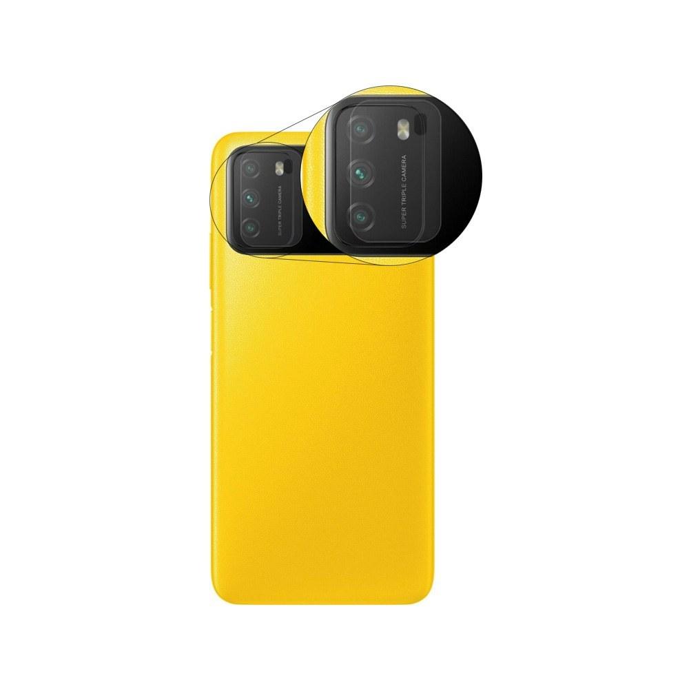 تصویر محافظ لنز دوربین نانو مناسب برای گوشی شیائومی پوکو M3 Nano Camera Lens Protector For Xiaomi Poco M3
