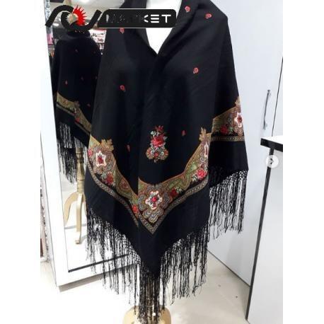 روسری طرح دار سنتی کد RNS42  