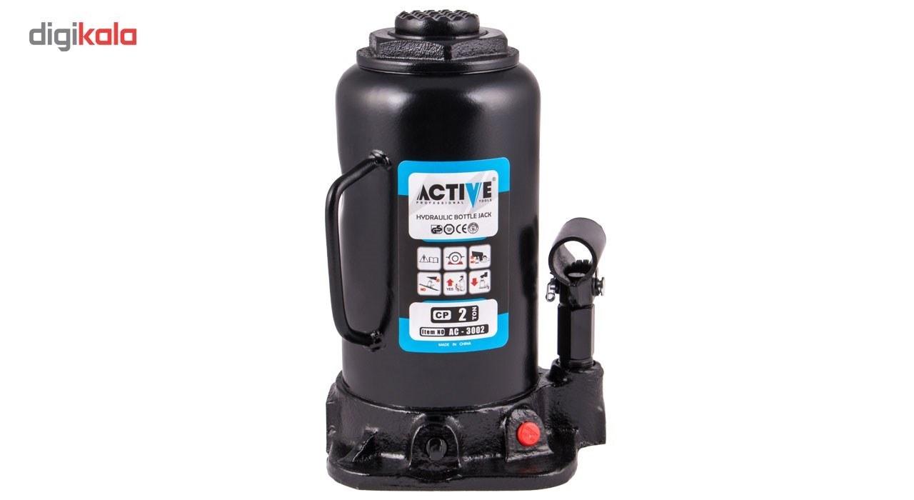img جک هیدرولیک روغنی خودرو اکتیو مدل AC3002 Active AC3002 Hydraulic Bottle Jack