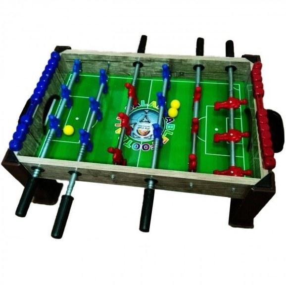 فوتبال دستی سالار سایز کوچک با پایه و گل شمار  