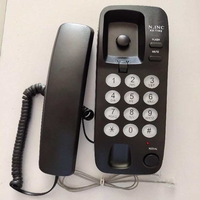 تصویر تلفن ثابت N.INC مدل KX-T102 | فروشگاه امارات