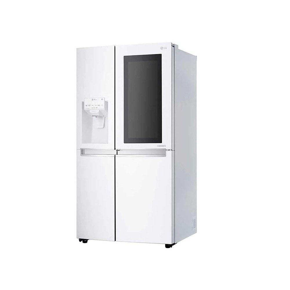 تصویر ساید بای ساید سفید ال جی سری InstaView مدل SXI535W ساید بای ساید سفید ال جی سری InstaView مدل SXI535W