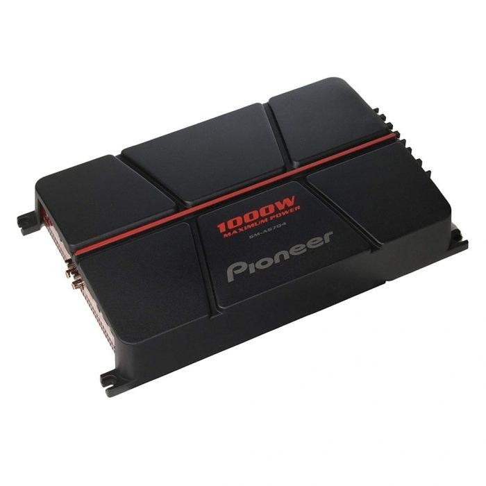 تصویر آمپلی فایر خودرو پایونیر مدل GM-A۶۷۰۴ چهار کاناله Pioneer GM-A6704 4-Channel Bridgeable Car Amplifier