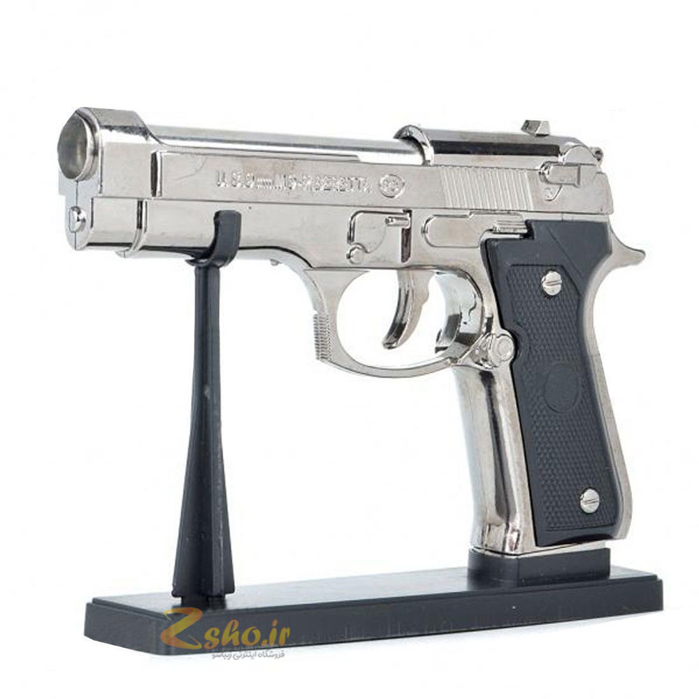 عکس فندک طرح تفنگ کلت برتا مدل M9  فندک-طرح-تفنگ-کلت-برتا-مدل-m9
