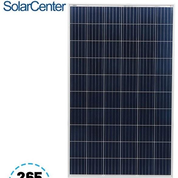 تصویر پنل خورشیدی 265 وات Ae solar
