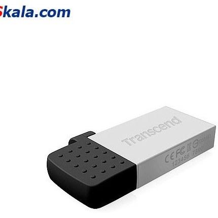 تصویر فلش مموری ترنسند Transcend JetFlash 380S OTG USB2.0 32GB
