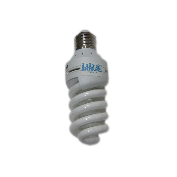 تصویر لامپ 18 وات کم مصرف فول اسپیرال دلتا