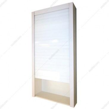 تصویر مکانیزم برقی درب کرکره ای شیشه ای سفید W75*H150 فانتونی مدل C801 Fantoni C801 Lift-UP Door Mechanism