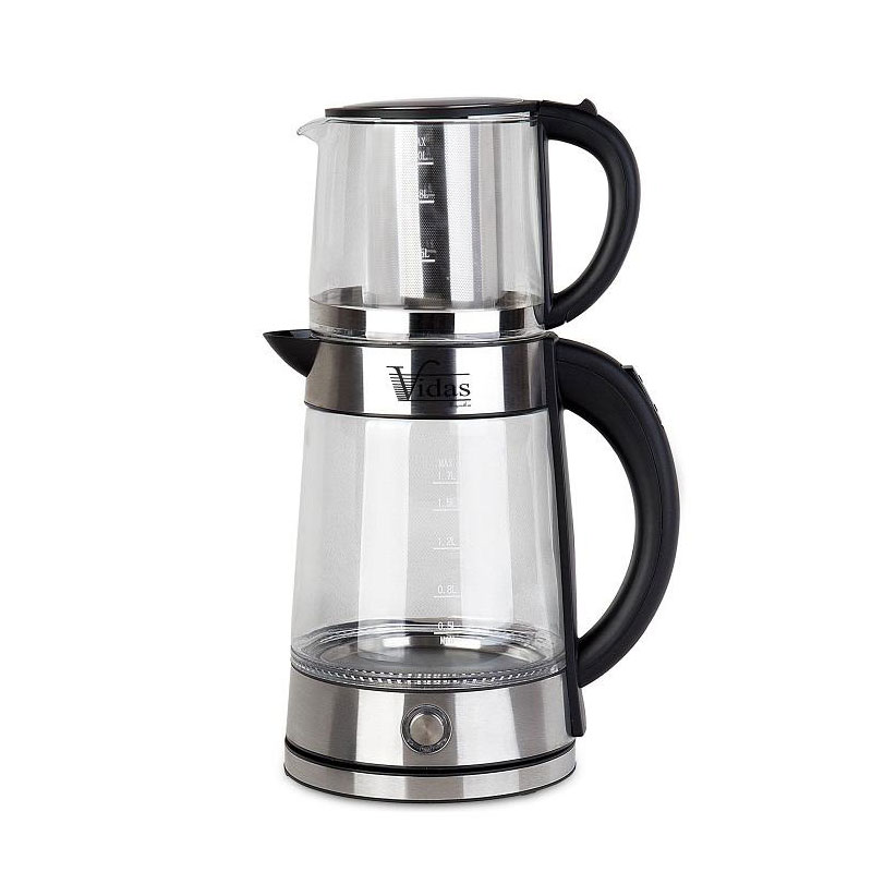 تصویر چای ساز ویداس مدل Vidas VIR-2079 Vidas VIR-2079 Tea Maker