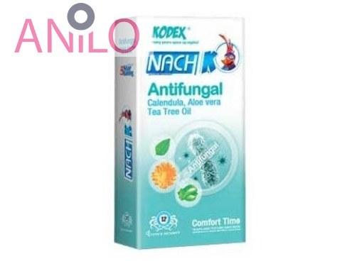 کاندوم کدکس مدل Antifungal Kodex Antifungal Condom 12PSC بسته 12 عددی
