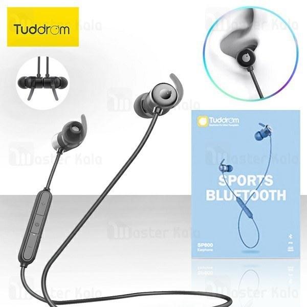 هندزفری بلوتوث تادروم Tuddrom SP600 Bluetooth Earphone IPX5 طراحی مگنتی + کیف