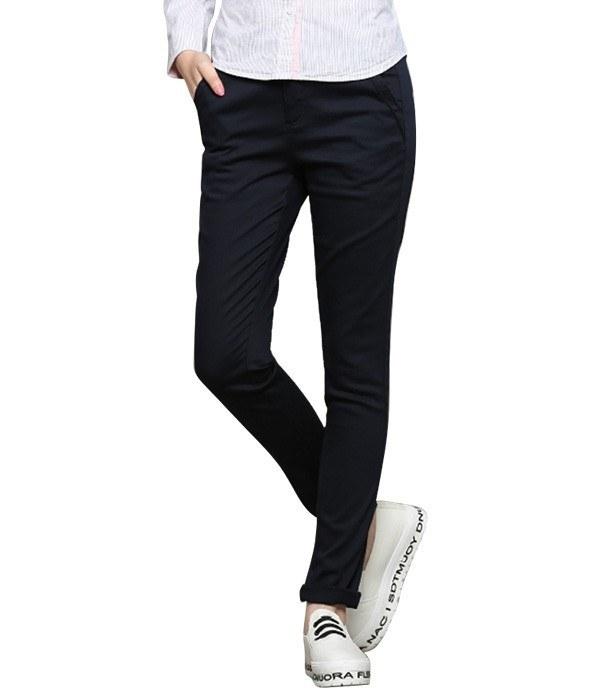 شلوار کتان زنانه جین وست Jeanswest