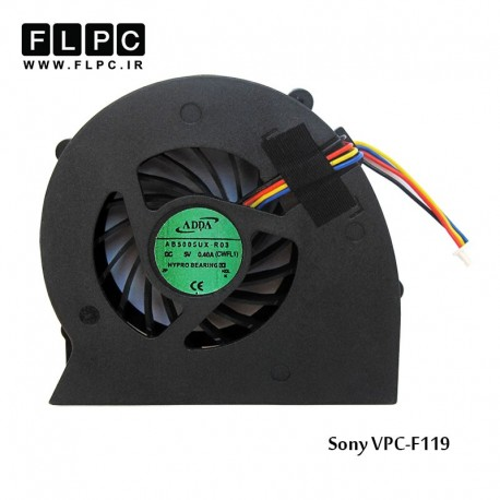 main images فن لپ تاپ سونی Sony VPC-F119 Laptop CPU Fan